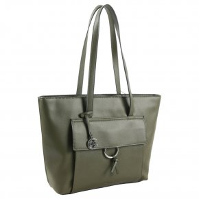 Comma LEASURE MIX Shopper khaki