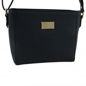 Comma BE YOURSELF Schultertasche dark blue