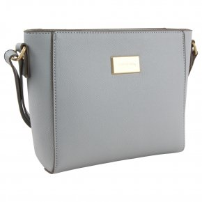 Comma BE YOURSELF Schultertasche light grey