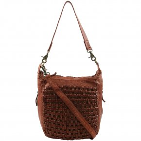 DEPECHE Medium bag cognac