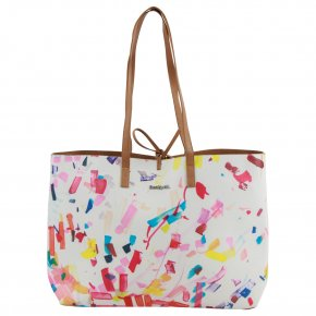DESIGUAL CONFETTI SEATTLE 2in1 Tasche blanco