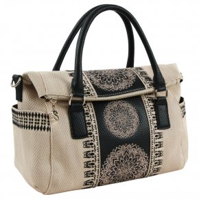 DESIGUAL LADY LOVERTY Henkeltasche crudo beige