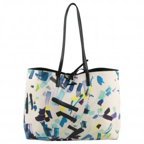 DESIGUAL CONFETTI SEATTLE negro 2in1 Shopper
