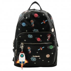 DESIGUAL INTERSTELLAR LIMA negro