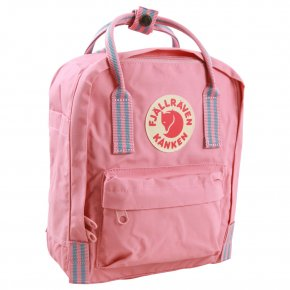 FJÄLLRÄVEN KANKEN MINI Rucksack pink-long stripes