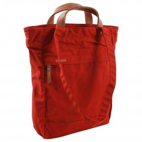 FJÄLLRÄVEN TOTEPACK No.1  S 2in1 Tasche deep red
