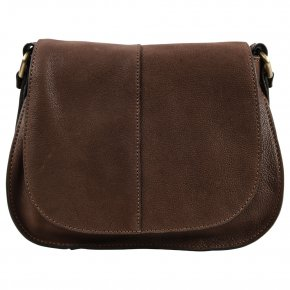 Gianni Conti Schultertasche dark brown