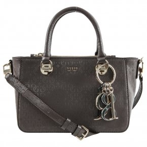 Guess TAMRA SMALL SOCIETY Handtasche taupe