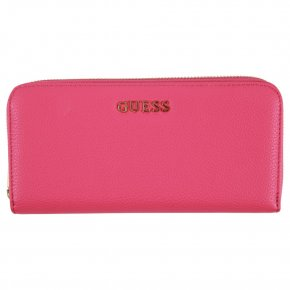 SISSI LARGE ZIP AROUND fuchsia