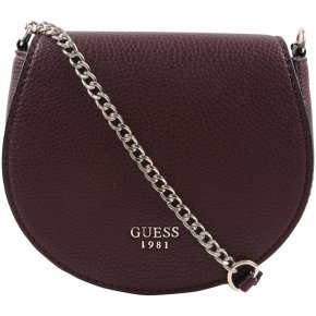 CATE PETITE SADDLE BAG bordeaux