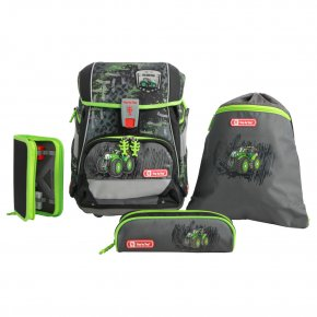 Step by Step Green tracto 2in1 Schulranzen-Set