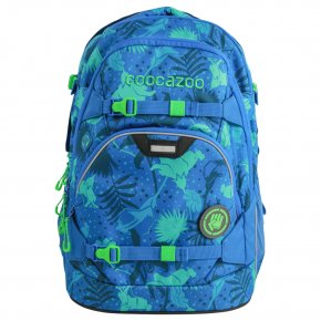 COOCAZOO ScaleRale Rucksack tropical blue