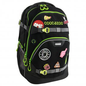 """COOCAZOO Rucksack ScaleRale """"Patchy"""" black"""