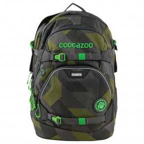 COOCAZOO ScaleRale Schulrucksack Polygon Bricks Grey