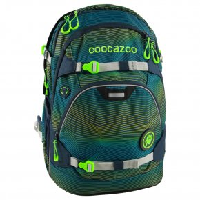 COOCAZOO ScaleRale Schulrucksack Soniclights green