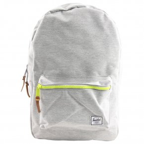 HERSCHEL SETTLEMENT Rucksack mit Laptopfach light grey crosshatch