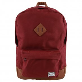 HERSCHEL HERITAGE WINDSOR wine/tan
