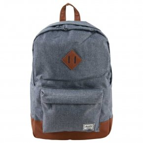HERSCHEL HERITAGE CHAMBRAY crosshatch/tan