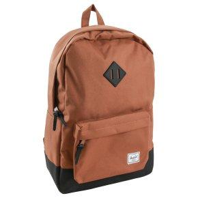 HERSCHEL HERITAGE CLASSICS Rucksack mit Laptopfach saddle brown/black