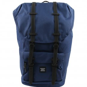 HERSCHEL LITTLE AMERICA Rucksack Twilight Blue/Black Rubber