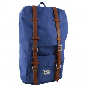 LITTLE AMERICA deep ultramarine/tan