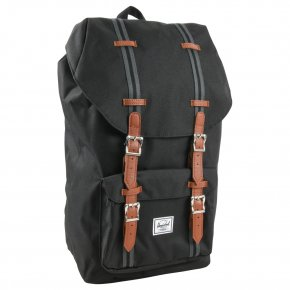HERSCHEL LITTLE AMERICA CL Rucksack black/black/tan