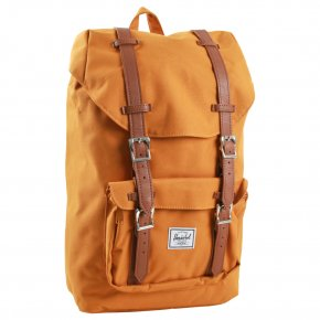 HERSCHEL LITTLE AMERICA MID buckthorn brown