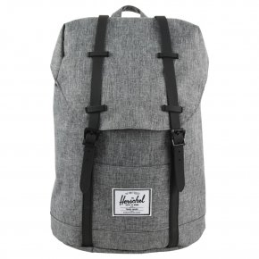 HERSCHEL RETREAT Rucksack crosshatch/black