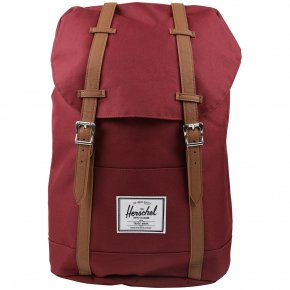 HERSCHEL RETREAT windsor wine/tan