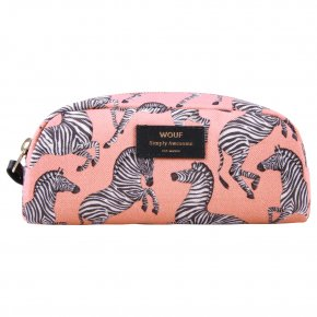 WOUF SMALL BEAUTY Kosmetiktasche zebra