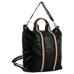 Emily & Noah LUISA 2in1 City Rucksack groß black