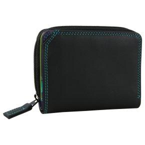 mywalit Small Wallet Zip Around Damenbörse black/pace