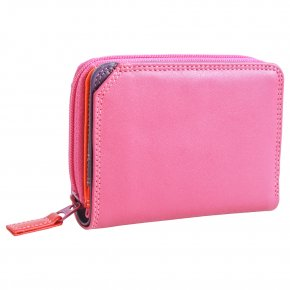 mywalit Small Wallet Zip Around Sangria Multi