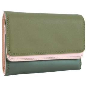 mywalit Double Flap Purse Damenbörse olive