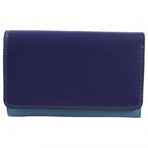 Medium Tri-fold Outer Zip Purse Lavender