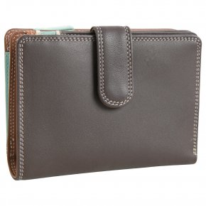 mywalit Medium 10 C/C mocha Wallet Zip Purse