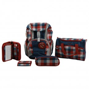 Sammies Ergofit Set 2.0 Schulranzen-Set classic checks