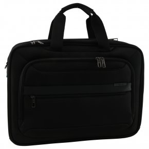 "Samsonite Vectura Evo  17"" bailhandle Laptoptasche black"