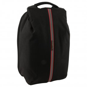 "Samsonite Securipak S 14.1"" Rucksack black steel"