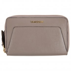 Samsonite Börse Lady Saffiano II Zip around warm grey