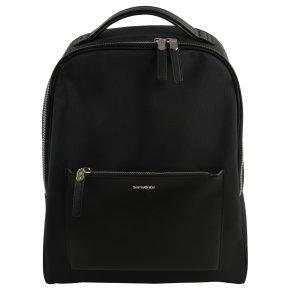 """Zalia 14.1"""" black backpack"""