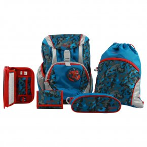 Samsonite ERGOFIT SET spiderman camouflage