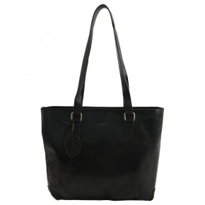 Saccoo RUBIA leichter Shopper black