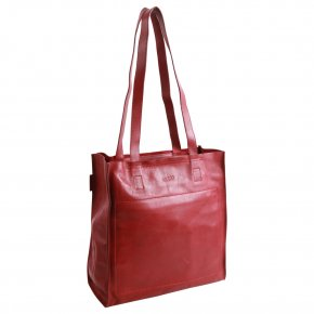 Saccoo Tienda Shopper red
