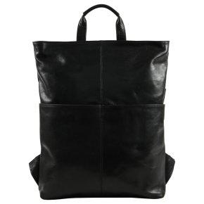 Saccoo MUSTERS Laptoprucksack black
