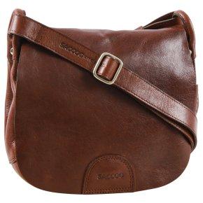 Saccoo SALPO S Handtasche brown
