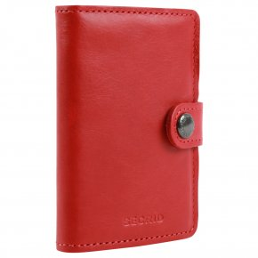 Secrid Miniwallet red-red