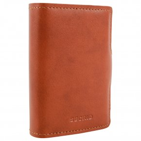 Twinwallet Original cognac-brown