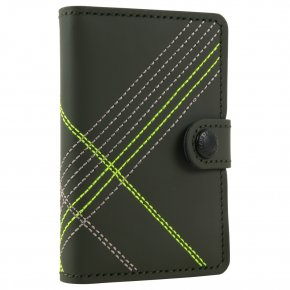 Secrid Miniwallet Stitch Linea Lime