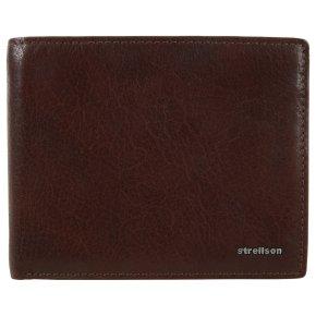 Strellson Billfold H8 QF Jefferson Herrenbörse dark brown